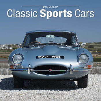 Classic Sports Cars Calendrier 2019