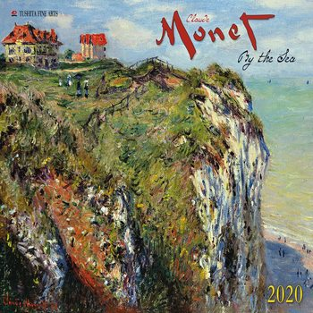 Claude Monet - By the Sea Calendrier 2020