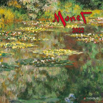 Claude Monet Calendrier 2022