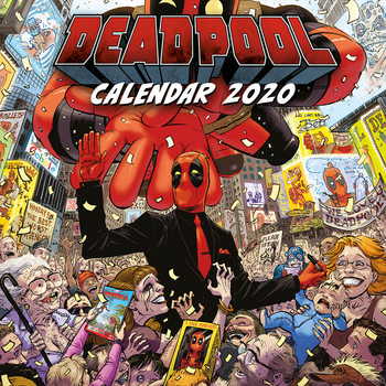 Deadpool Calendrier 2020