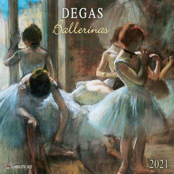Edgar Degas - Ballerinas Calendrier 2021