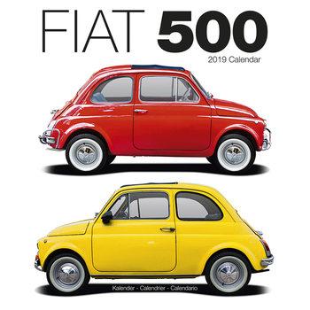 Fiat 500 Calendrier 2019
