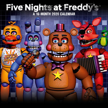 Five Nights At Freddys Calendrier 2020