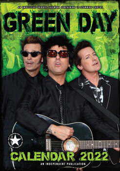 Green Day Calendrier 2022