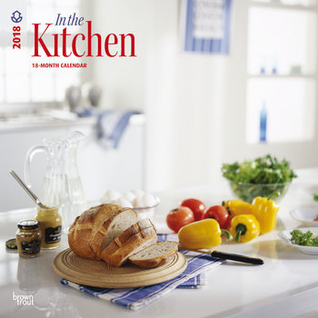 In the kitchen Calendrier 2018