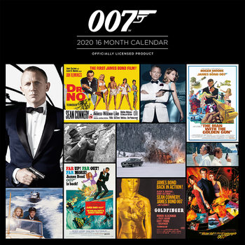 James Bond Calendrier 2020