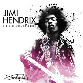 Jimi Hendrix Calendrier 2017
