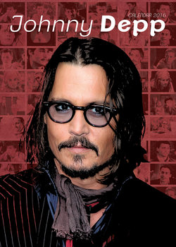 Johnny Depp Calendrier 2019