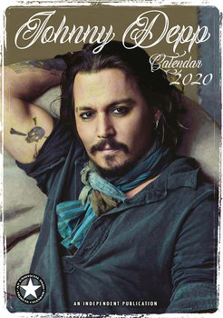 Johnny Depp Calendrier 2020