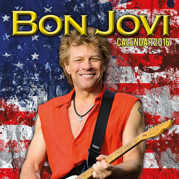 Jon Bon Jovi Calendrier 2017