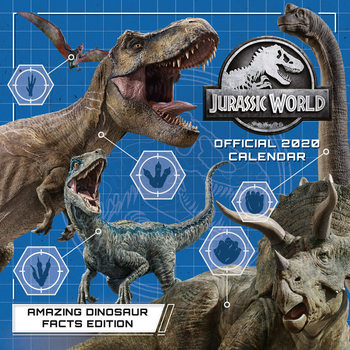 Jurassic World Calendrier 2020