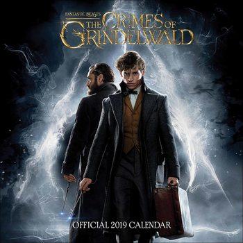 Les Animaux fantastiques: Les Crimes de Grindelwald Calendrier 2019