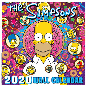 Les Simpson Calendrier 2020