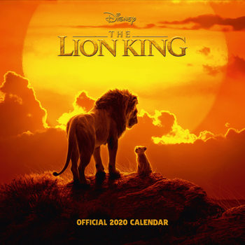 Lion King Calendrier 2020