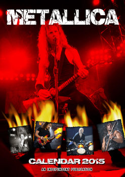 Metallica Calendrier 2017