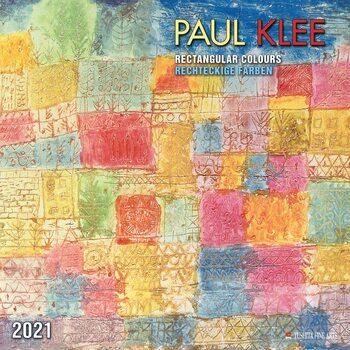 Paul Klee - Rectangular Colours Calendrier 2021