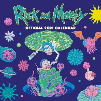 Rick & Morty Calendrier 2021