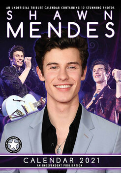 Shawn Mendes Calendrier 2021