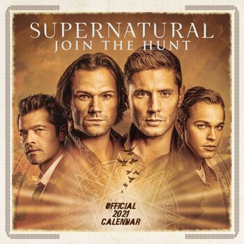 Supernatural Calendrier 2021