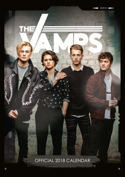 The Vamps Calendrier 2018
