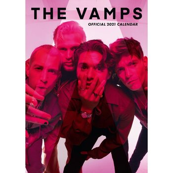 The Vamps Calendrier 2021