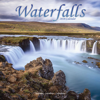 Waterfalls Calendrier 2018