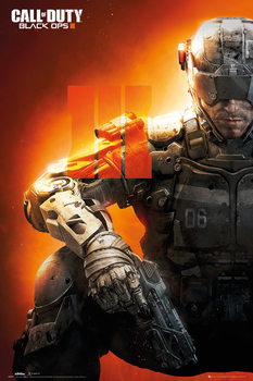 Call of Duty: Black Ops 3 - III - плакат (poster)
