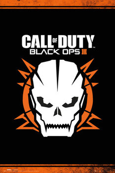 Call of Duty: Black Ops 3 - Skull - плакат (poster)