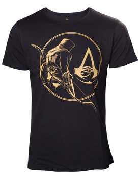 Camiseta  Assassin's Creed - Golden Bayek & Crest