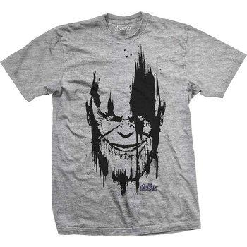 Camiseta  Avengers - Infinity War Thanos Head Black
