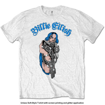 Camiseta Billie Eilish - Bling