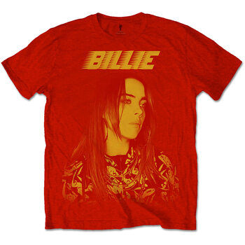 Camiseta Billie Eilish - Racer Logo