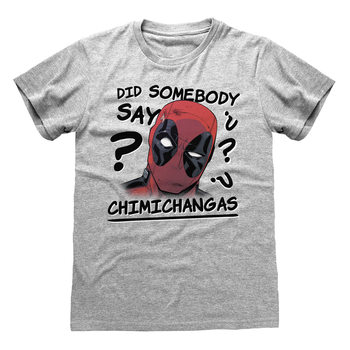 Camiseta Deadpool - Chimichangas
