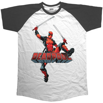Camiseta  Deadpool - Logo Jump