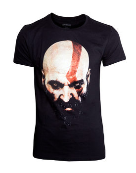 Camiseta  God Of War - Kratos Face