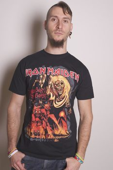 Camiseta Iron Maiden - Number of the Beast