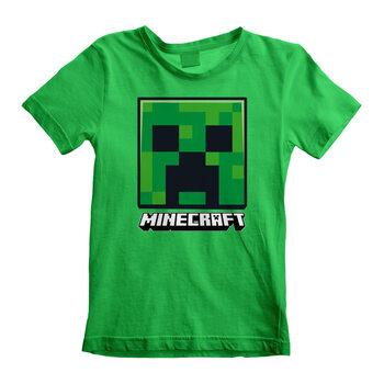 Camiseta Minecraft - Creeper Face