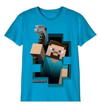 Camiseta  Minecraft - Steve