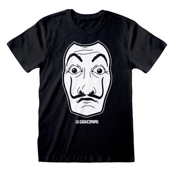 Camiseta Money Heist (La Casa De Papel) - Black Mask
