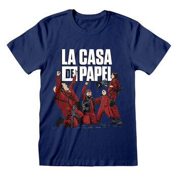 Camiseta Money Heist (La Casa De Papel) - Celebrating