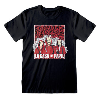 Camiseta Money Heist (La Casa De Papel) - Group Shot