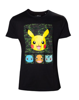 Camiseta Pokemon - Pikachu and Friends