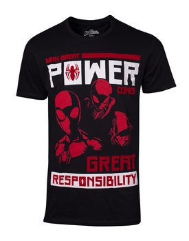 Camiseta Spiderman - Power Vs Responsibility