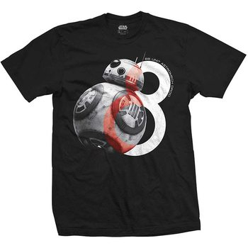 Camiseta  Star Wars - BB-8 Big Eight
