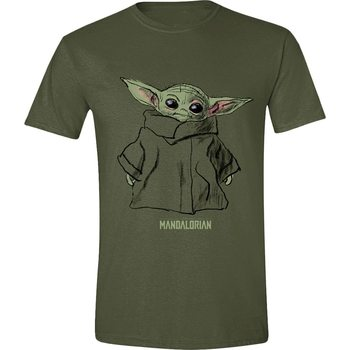 Camiseta Star Wars: The Mandalorian - The Child Sketch