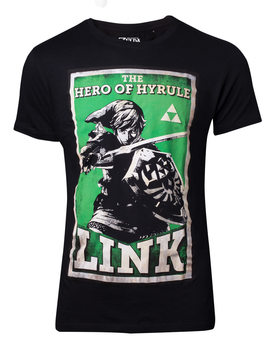 Camiseta The Legend Of Zelda - Propaganda Link