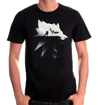 Camiseta The Witcher - Wolf