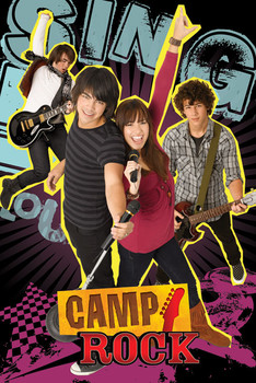 CAMP ROCK - group - плакат (poster)