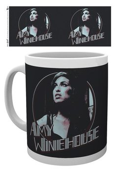 Amy Winehouse - Retro Badge Cană
