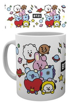 Cană BT21 - Characters Stack